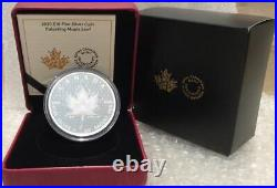 2020 2 Oz Pulsating Maple Leaf Pure Silver Proof Coin Canada