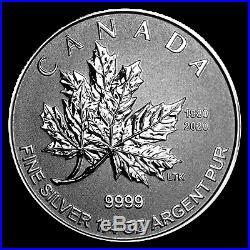 2020 Canada 5-Coin Silver Maple Leaf O Canada Fractional Set SKU#198033