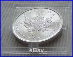 2020 Canada $5 Privy Mark f15 MAPLE LEAF 1 oz silver coin Fabulous & CoA