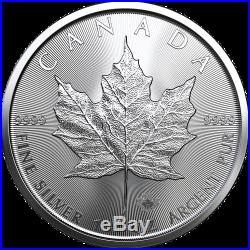 2020 Canada Silver Maple Leaf 1 Ounce Coins Original BU Roll Contains 25 Coins