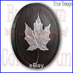 2020 Maple Leaf $50 Rhodium-Plated Double-Incuse Pure Silver Proof Coin Canada