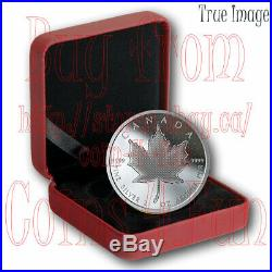 2020 Pulsating Maple Leaf $10 2 OZ Pure Silver Proof Coin Canada