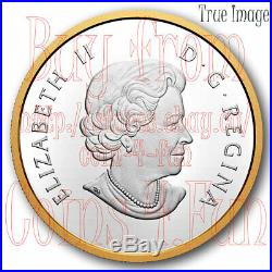 2020 Timeless Icons 4 Polar Bear Maple Leaf $25 Pure Silver Proof Piedfort Coin