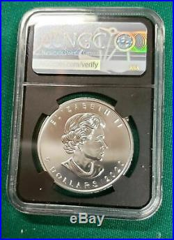 2020 W Canada Burnished Silver Maple Ngc Ms 70 Fdoi Fdi Signed By Susan Taylor