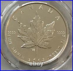 2020 w Canada $5 Silver Maple Leaf Burnished PCGS SP 70 FDOI Magnum Opus