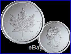 2020-w Canada Burnished Silver Maple Leaf