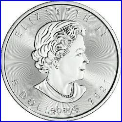 2021 Canada 10 oz Silver Maple Leaf BU (Set of 10 1 oz Coins)