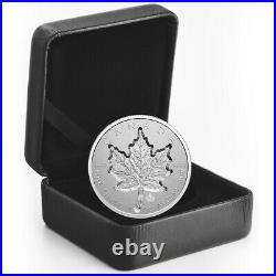 2021 Canada $20 Super Incuse Maple Leaf Reverse proof 1 oz pure silver