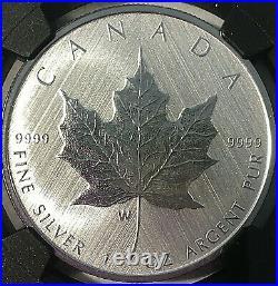 2021 W $5 Canada TAYLOR SPECIMEN BURNISHED Maple Leaf NGC SP 70 FDOI with COA