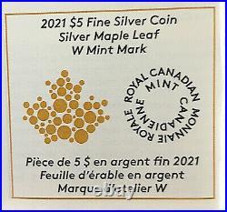2021 W $5 Canada TAYLOR SPECIMEN BURNISHED Maple Leaf NGC SP 70 FR with COA
