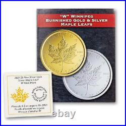 2021-w Canada $5 1-oz Silver Maple Leaf Tailored Specimen Ngc Sp70 Fr Black Core