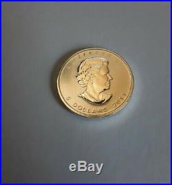 25 x 2011 Tube Canadian Maple Leaf 1oz Silver Bullion Coin Uncirculated Freepost