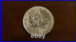 25x Canadian Maple 2013 1oz silver coin Uncirculated Coins 99.99% Pure $5 Canada