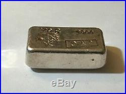 3 oz Johnson Matthey Canada (JMC) Canada Silver Bar Maple Leaf (Low Mintage)