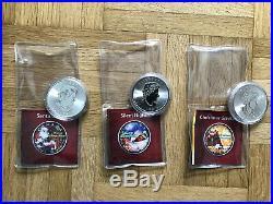 3x 1 Oz Unze Silber Maple Leaf Weihnachten 999,9 Silver Silbermünze coin XMAS