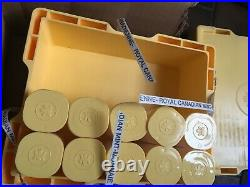 50 x 1 oz Canadian Silver Maple Leaf Coins Mint Untouched 999.9 Fine