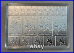Avc- Canada Silver Maple-flex Bars 2 Oz. 999 Fine Silver