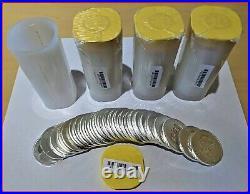 BU Roll of 25 2013 1 oz Canadian Silver Maple Leaf. 9999 Fine $5 IN MINT TUBE