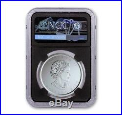 Burnished Maple Leaf NGC MS70 First Releases 1 oz Silver 2020 W Coin