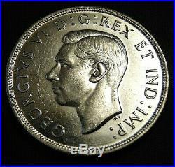 CANADA Canadian 1947 ML Maple Leaf silver dollar King George VI NICE