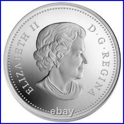 Canada $20 Dollars Fine Silver Maple Leaf Coin, Crystal Raindrop, 2010