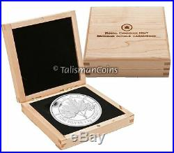 Canada 2012 Maple Leaf Forever Sugar Maple $250 1 Kilogram Kilo Silver Proof