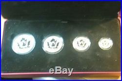 Canada 2014 Fine Silver Fractional Set Maple Leaf Reverse Proof
