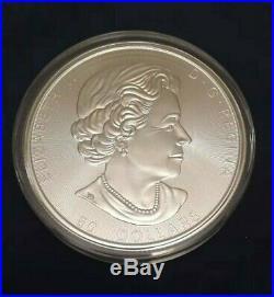 Canada 2017 10 oz 9999 Silver Maple Leaf Bullion Coin $50 BU