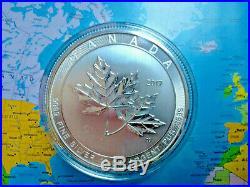Canada 2017 50 Dollars Maple Leaf 10 Oz Silver 999