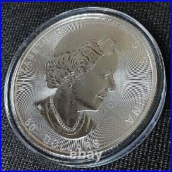 Canada 2017 $50 Sugar Maple Leaf Brilliant Uncirculated 10 oz. 999 Silver Coin