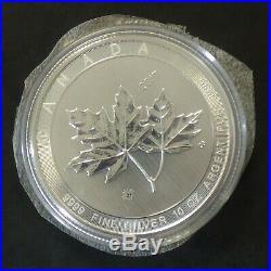 Canada 50$ Magnificient Maple Leaf 2017 silver 99.99% 10 oz