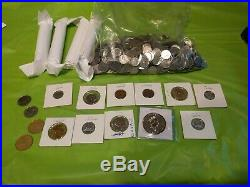 Canadian Coin collection Canada 150 dollars Silver maple leaf quarters dimes