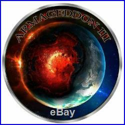Death Maple Leaf Armageddon III GRIM REAPER 1 Oz Silver Coin 5$ Canada 2018