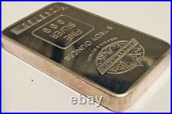 ENGELHARD 5oz Canadian Maple Leaf Silver Bar s/n 248745 TIER 1 100 ULTRA RARE