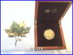 EXCLUSIVE Masters Club Coin Pure Silver Coin Iconic Maple Leaves