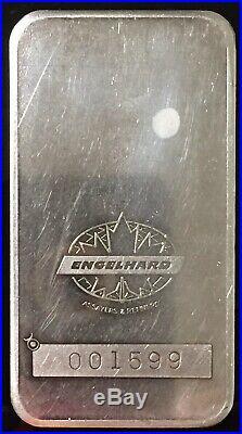 Engelhard 10 oz Maple Leaf Scotiabank 999 Silver Bar Bull Logo TIER 1 RARITY