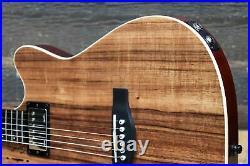 Godin A6 Ultra Koa High-Gloss B-Stock Electric-Acoustic Guitar withBag #20215146