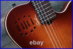Godin Multiac Nylon Encore Burnt Umber SG B-Stock El. Classical Guitar withBag