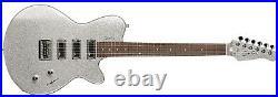 Godin TRIUMPH Sparkle Silver Electric Guitar Made In Canada/ USA