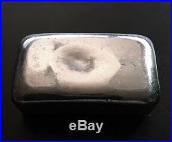 JMC Johnson Matthey Canada 3 oz. 999 Fine Silver Bar Ingot, Maple Leaf Hallmark
