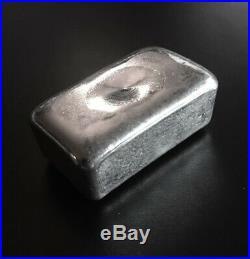 JMC Johnson Matthey Canada 4 oz. 999 Fine Silver Bar Ingot, Maple Leaf Hallmark