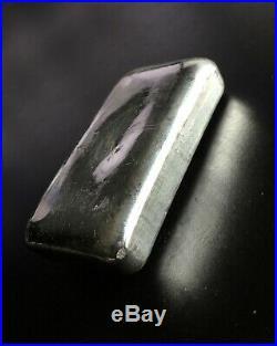 JMC Johnson Matthey Canada 5 oz. 999 Fine Silver Bar Ingot, Maple Leaf Hallmark