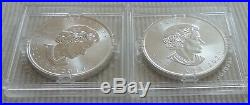 LOT of 2019 & 2020 Canada $5 Privy Mark f15 Maple Leaf 1 oz silver coin Fabulous