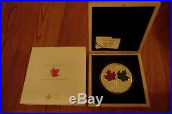 MAPLE LEAF FOREVER 1 Kg Kilo Silver Coin Proof 250$ Canada 2014 Low Mintage