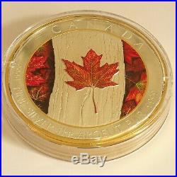 MAPLE LEAF FOREVER 1 Kg Kilo Silver Coin Proof 250$ Canada 2016 Low Mintage