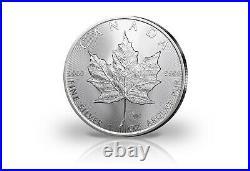Maple Leaf 1 OZ Silver 2021 Canada IN 25er Tube Value Pack