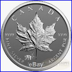 PANDA PRIVY II 2017 25 x 1 oz Pure Silver Maple Leaf Reverse Proof Coin in Tube
