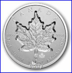 RCM $20 1 oz. Pure Silver Coin Super Incuse Silver Maple Leaf 2021 Pre-Order