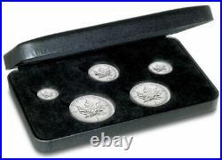 RCM Privy Mark 2004 Canada Silver Maple Leaf Fractional Set