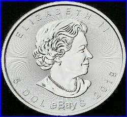 TUB25b SD 25 x 1 oz 2019 Silver Canadian Maple Silver Bullion Coins FULL TUBE